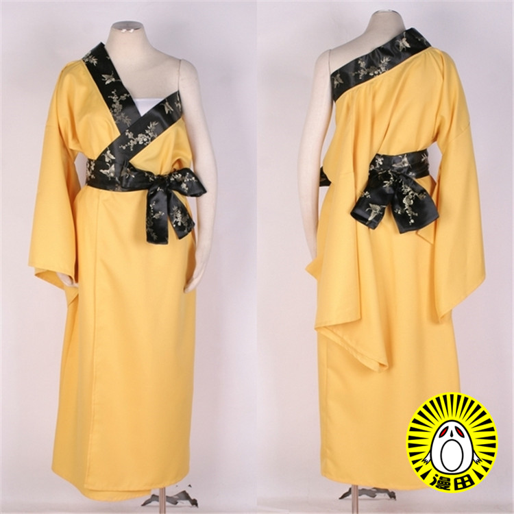 Man Woman Cos Anime VOCALOID Cartoon Halloween Party Cosplay Kagamine Rin Japanese Cosplay Costume