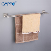 GAPPO 1Set High Quality Wall Mounted Double Towel Bars Bathroom Accessories Towel Holder Hooks Restroom Towel