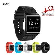 Smartband Relojes X9 Más Pulsera Heart Rate Monitor de Presión Arterial Bluetooth Inteligente Pulsera de Fitness para Android IOS Teléfono