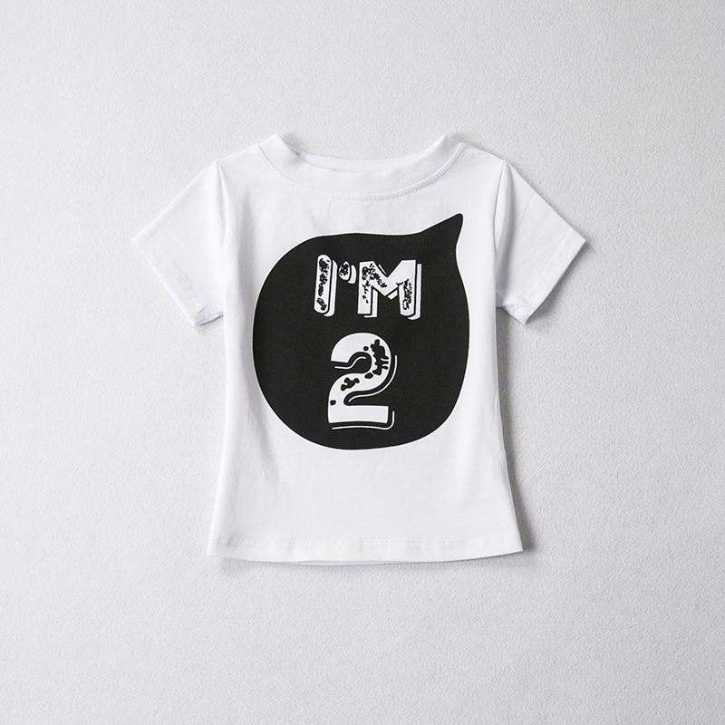HTB1DCjBRXXXXXX2apXXq6xXFXXXy - 1 2 3 4 5 years Birthday Christmas boy's t shirt cotton t-shirt children's clothing child's tee clothes costume for kids tops