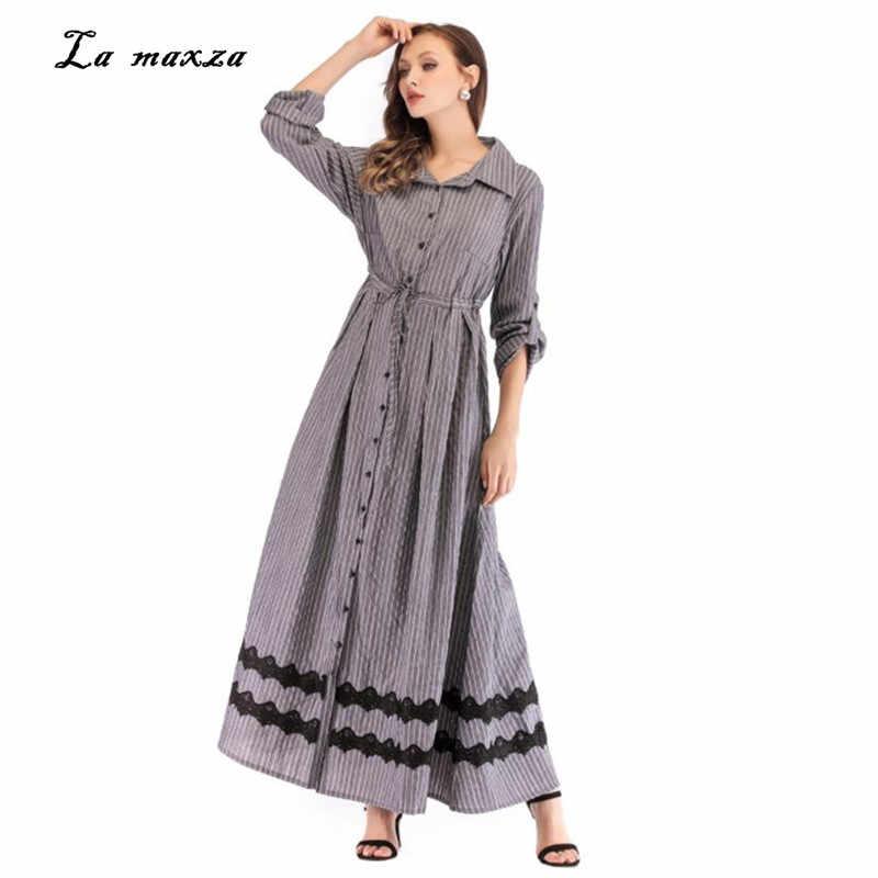 ac4b379173eb Detail Feedback Questions about Abaya Maxi Dress Muslim Women Modest Dress  Lace Moroccan Islamic Dubai Robe Musulmane Longue on Aliexpress.com |  alibaba ...