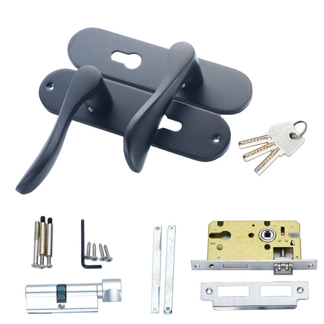 Interior Door Lock Types types door hardware & a lever handle one of the more common types