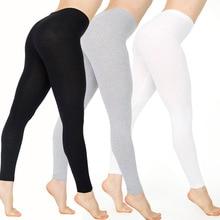 Bohocotol 2018 Women pants American Ladies Leggings Sexy Black And White Sexy Le