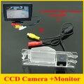 4.3 дюймов монитор автомобиля зеркало заднего вида парковочная камера для Nissan March Renault logan Sandero автомобиля камера заднего
