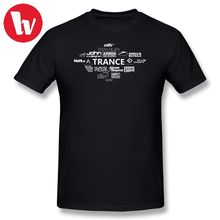 Armin Van Buuren T Shirt TRANCE DJs-Armin Marlo State of Trance T-Shirt Men Fun Shirt Cotton T Shirts Basic T-Shirt Men Graphic цена и фото