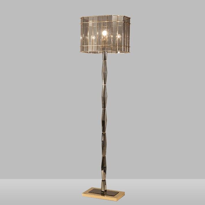 nouvelle arrive de luxe tage luminaire lustre lamparas k9 lampadaire en cristal salon chambre dcoration moderne - Lampe Sur Pied Fleur
