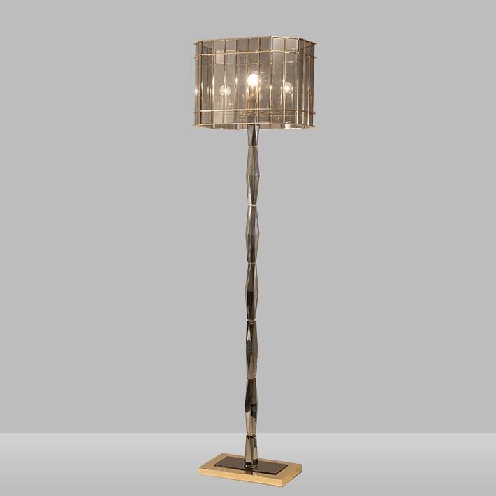 € 278.51 |Nouveauté luminaire de luxe lustre lampara k9 cristal lampadaire  salon décoration de la maison lampe sur pied moderne-in Lampadaires from ...