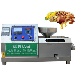 commercial oil press machine 220V stainless steel household use peanuts sesame sunflower soybean palm cold screw oil press maker