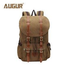 Augur marke new fashion rucksäcke frauen mens designer rucksack laptop rucksack leinwand schultaschen ht100594