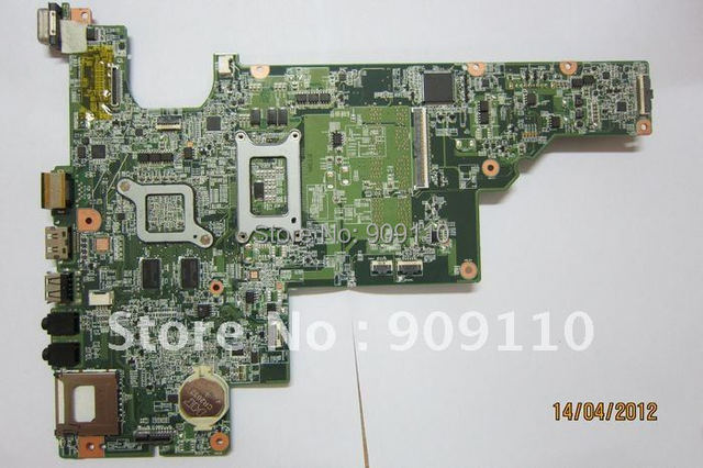 CQ43  non-integrated  512M  motherboard for H*P laptop CQ43 646670-001