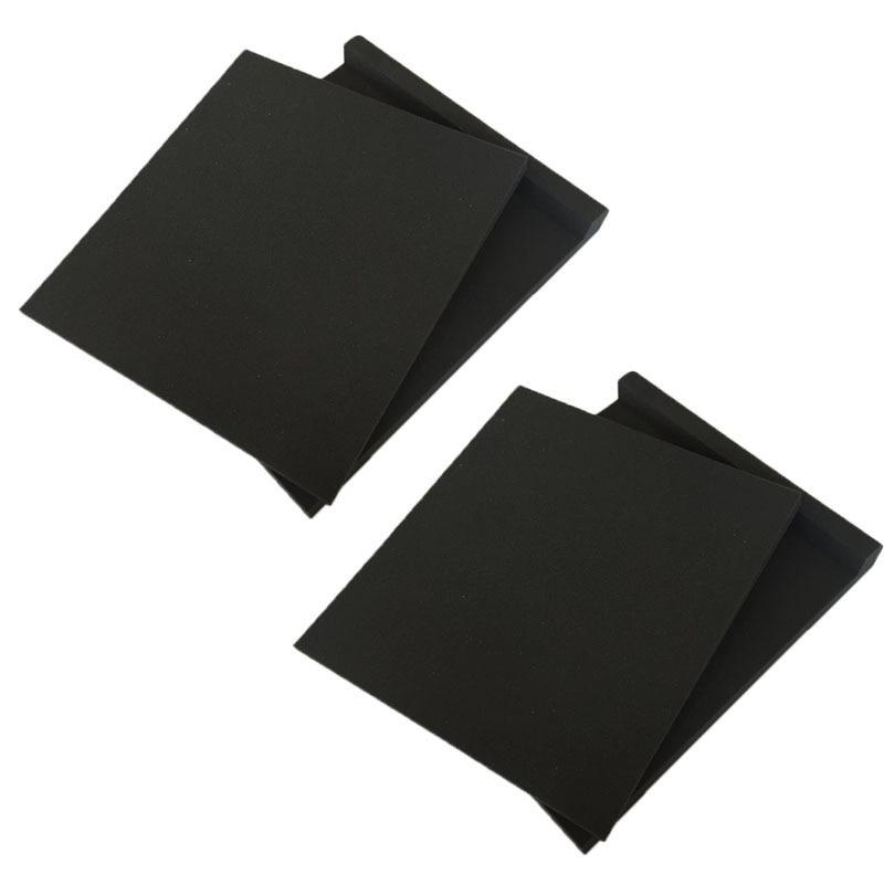 2 пары студийных мониторов динамик пена для акустической изоляции колодки изолятор 2 x размеры