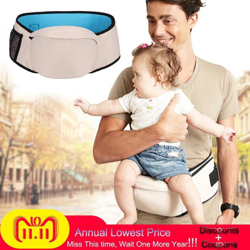 Baby Carrier Waist Stool Walkers Baby Sling Hold Waist Belt Backpack Hipseat Belt Kids Infant Hip Seat|Backpacks & Carriers| |  -