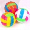 Bebé niños luz juguete voleibol pelotas rebotando niños luminoso juguete intermitente fiesta regalo