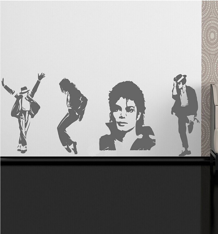 Michael Jackson Thriller Vinilo Wall Sticker Wallpaper