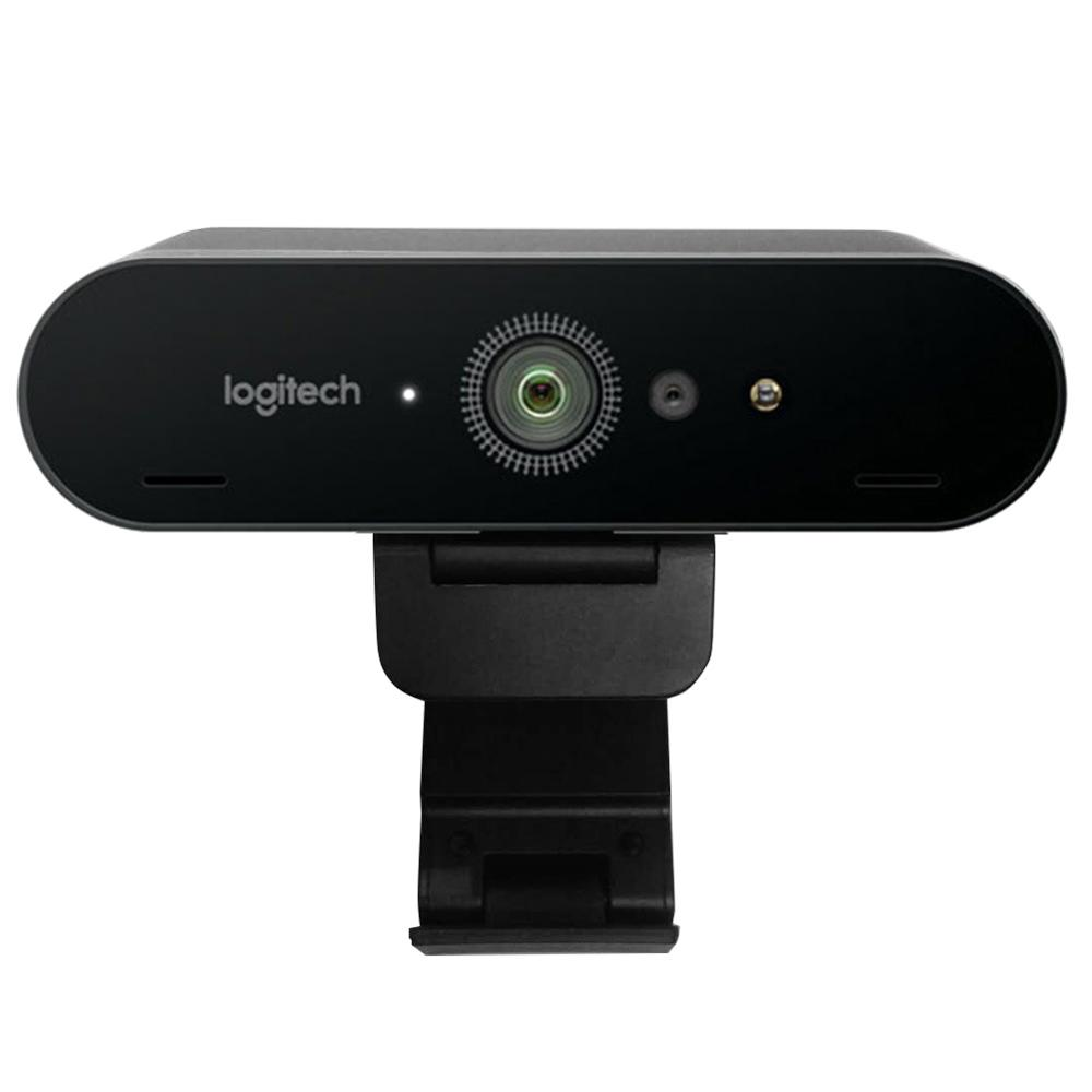 Logitech C1000e BRIO 4K Ultra HD Webcam 1080P 5X Digital Zoom Autofocus Camera With Mic For Video Conference Streaming Recording image