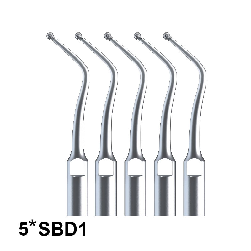 Dental Tools 5Pcs SBD1 Diamond Coated Cavity Prepartion Tip For SATELEC And DTE Scaler Dentist Use For Removal Of Dental Caries