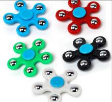 New 5 Corner Hand Spinner EDC Fidget Metal Rainbow Spiner Anti-Anxiety Toy for Spinners Focus Relieves Stress ADHD Finge