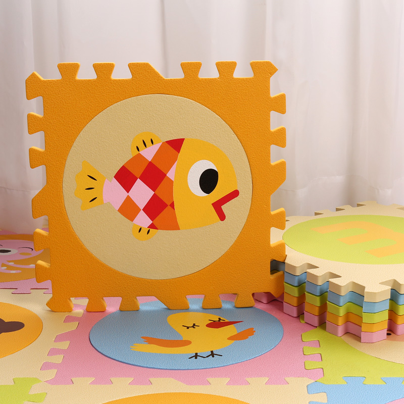 Eva Foam Mat Baby Playing Mat Cartoon Pattern Puzzle Mat Փափուկ - Խաղալիքներ նորածինների համար - Լուսանկար 4
