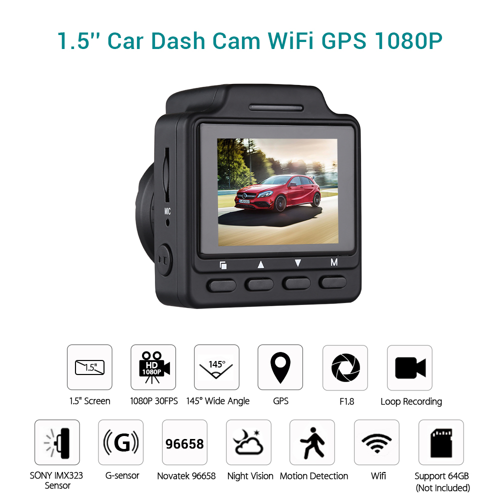 WonVon Mini Car DVR Camera Dash Cam Full HD 1080P Video Registrar Night Vision Car Camera G-sensor Video Registrator Dash CameraWonVon Mini Car DVR Camera Dash Cam Full HD 1080P Video Registrar Night Vision Car Camera G-sensor Video Registrator Dash Camera