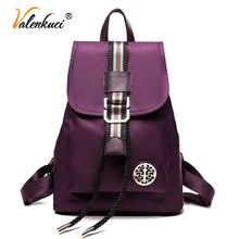 Valenkuci новый 2017 женщины рюкзак высокое качество рюкзаки женщины рюкзак для девочек-подростков нейлон школьные сумки mochila BD-162