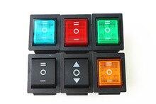 цены на Rocker Switch Power Switch 3 Position ON-OFFON  6 Pins With Light 16A 250VAC/ 20A 125VAC KCD4  в интернет-магазинах