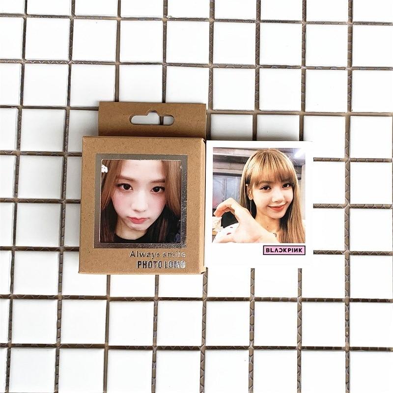 40Pcs/set KPOP Blackpink Lomo Photo Card PVC Cards Self Made Card Photocard