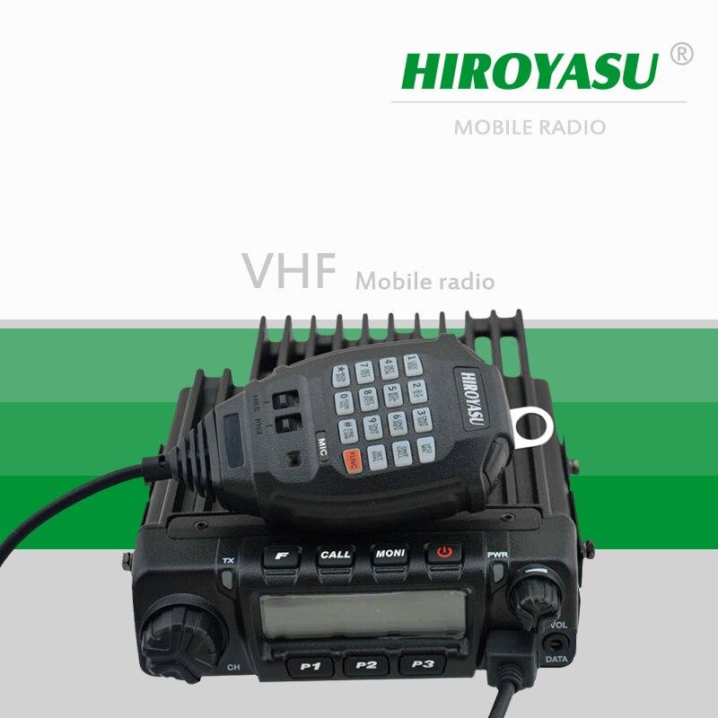 HIROYASU MH 370 VHF 136 174MHz 60Watt 200 Channels Car Radio Station Mobile Radio