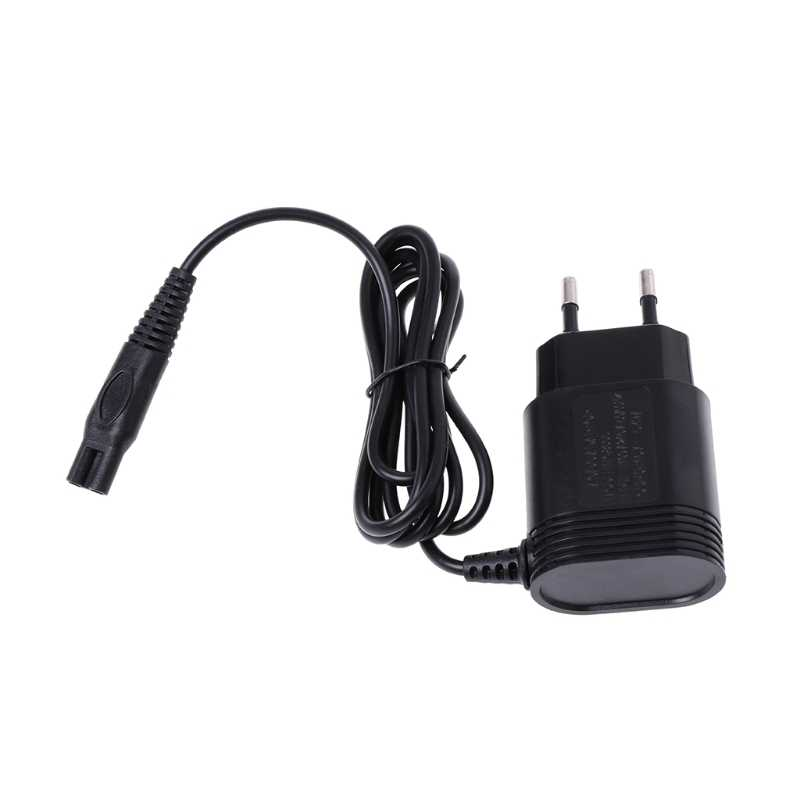 2-Prong Plug UE Charger Power Adapter Carregador para PHILIPS Barbeador Elétrico Barbeadores HQ8505/6070/6075/ 6090
