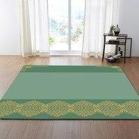 Nordic Living Room Carpets Flowers Rug Mats Bed Room Decoration Anti slip Soft Flannel Bedside Tea Table Area Rug Parlor Carpet