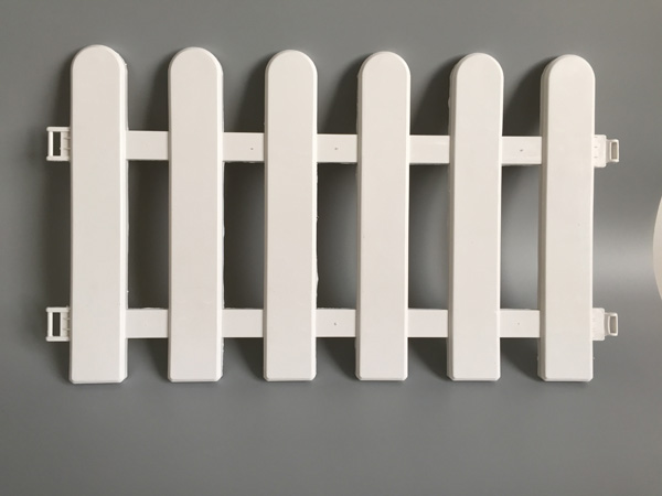 8Pcs/Lot D50*H29CM White Fence Plastic Fence Garden Fencing Wholesale