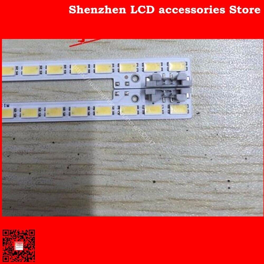 2 PCS/lot UA40D5000PR LTJ400HM03-H LED strip BN64-01639A 2011SVS40-FHD-5K6K-Right LEFT 2011SVS40 56K H1 1CH PV 440mm 62LED