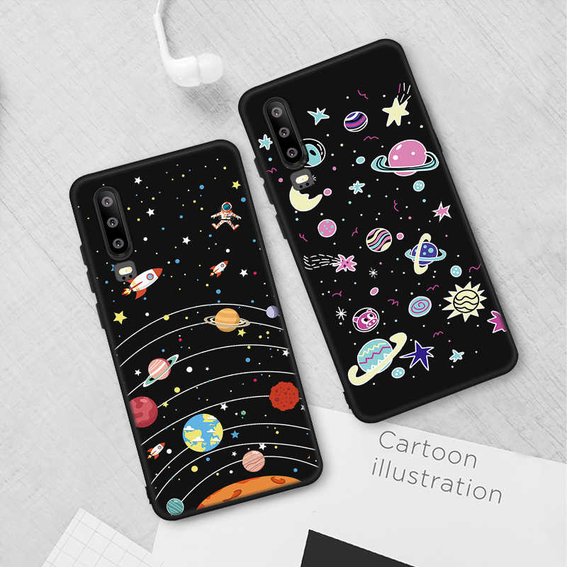 Morbido Cassa Del Telefono Del Modello Per Huawei Honor 8X9 10 Lite P30 Pro P20 Compagno di 20 Lite Nova 4 3 3i P10 P9 P8 Lite 2017 Della Copertura Posteriore Coque