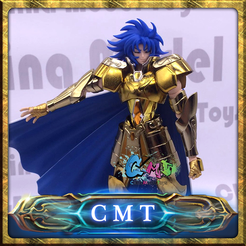 CMT IN STOCK S-Temple MetalClub EX GEMINI SAGA OCE and Normal Saint Seiya metal armor Myth Cloth Gold EX Action Figure фигурка героя мультфильма saint seiya metalclub galaxy ex kanon 15003