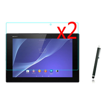 3in12x LCD Clear Screen Protector Films Protector de pantalla Guardia de Cine + 1x Stylus Para Sony Xperia Tablet Z2 SGP511 SGP512 SGP514 10.1″