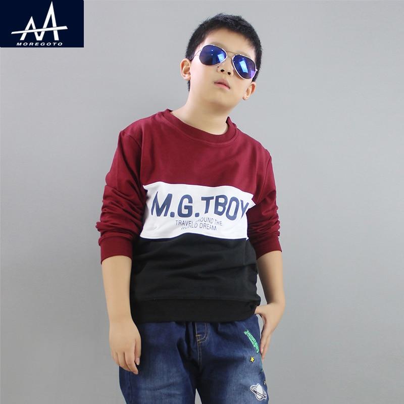 Spring Childrens Clothing Hoodies Sweatshirt Teenage Boys Cotton Fleece Boy Hoodies Sweater Loose Tops Fat Boys Age 9 10 11 12Y
