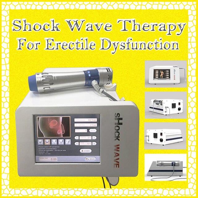 rendimiento de la terapia de ondas de choque disfunción eréctil