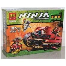 BELA 9754 187pcs Ninjagoes Phantom Ninja minifigures generations 3 Kay wheel motorcycle building block eductional kid toy gift