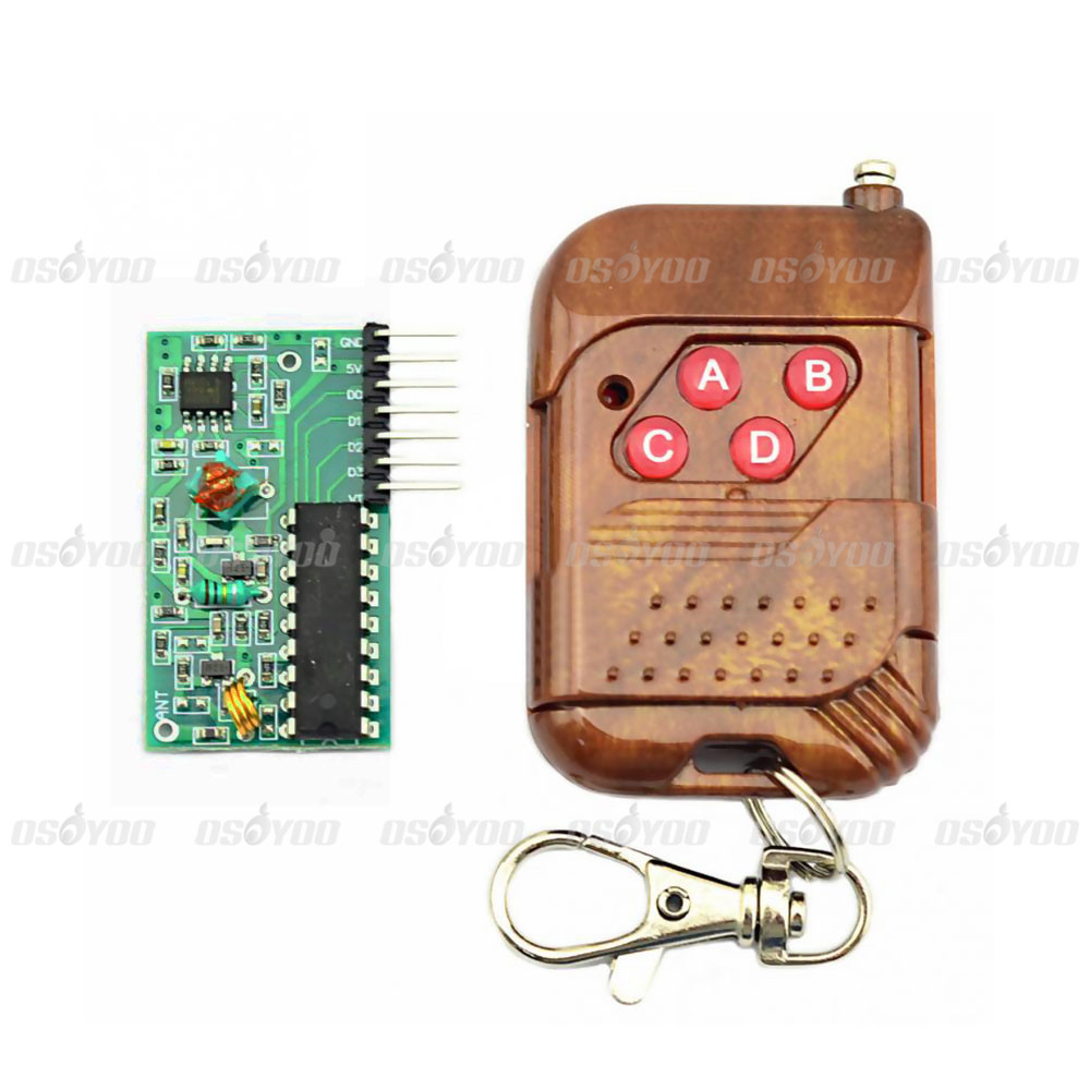 IC 2262/2272 4CH 315Mhz Key Wireless Remote Control Kits Receiver module  For Arduino-in Demo Board from Computer & Office on Aliexpress.com |  Alibaba Group