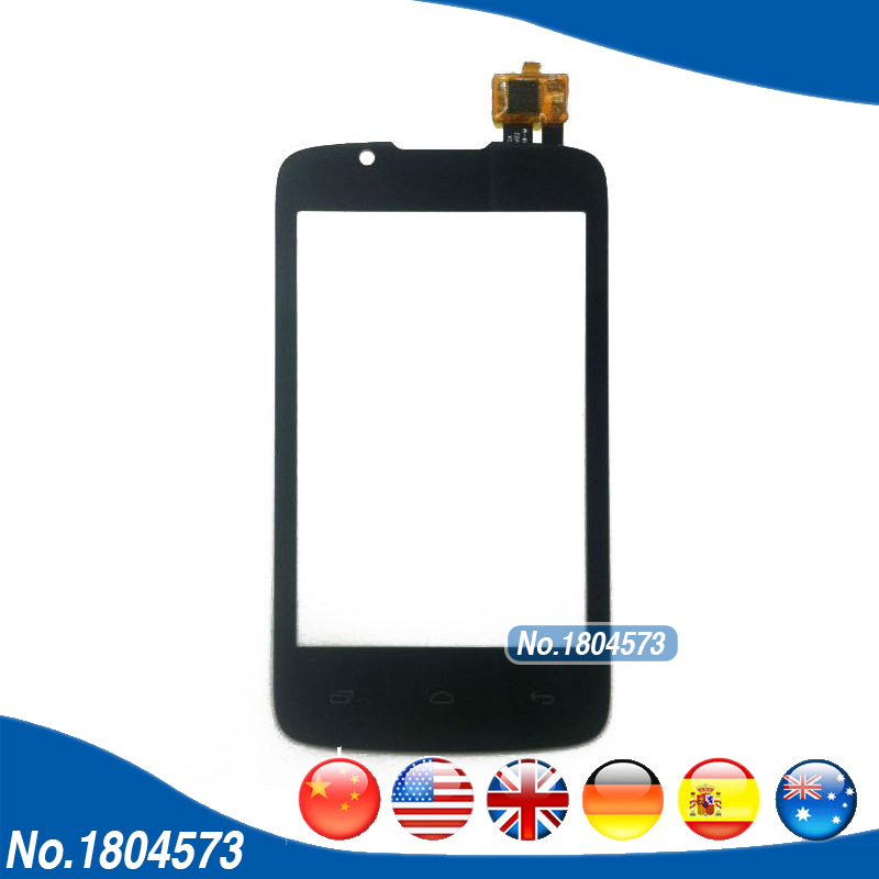 For Fly IQ436 ERA Nano 3 Touch Screen Digitizer Front Glass Len With Touch Panel Replacement Parts Black Color 1PC/Lot