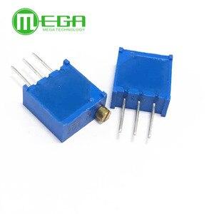 10pcs 3296W series resistanceohm Trimpot Trimmer Potentiometer 1K 2K 5K 10K 20K 50K 100K 200K 500K 1M(China)