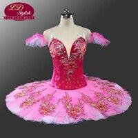 Sugar Plum Red Violet Professional Ballet Tutu LD0051 Adult Tutu Ballet Professional Girls Classical Ballet Tutu