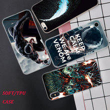 Silicone Case The music video for venom Printing iPhone XS XR Max X 8 7 6 6S Plus 5 5S SE Phone Matte Cover