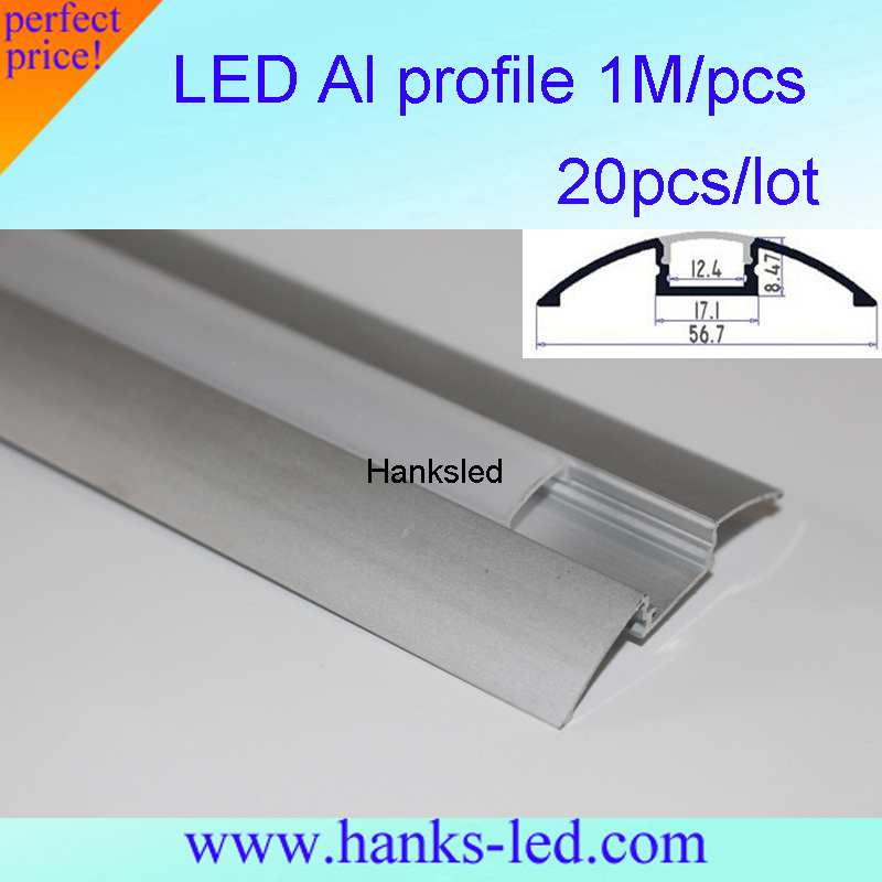 20m lot floor profile led aluminium extrusion for floor for Floor profile