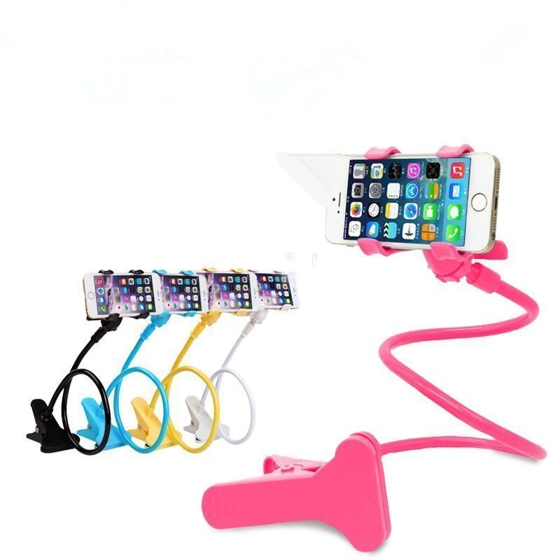 JERX Universel flexible Bras Support de Téléphone Paresseux Lit Col De Cygne Téléphone Portable Stand Bureau Stents Table Clip Support pour iphone samsung