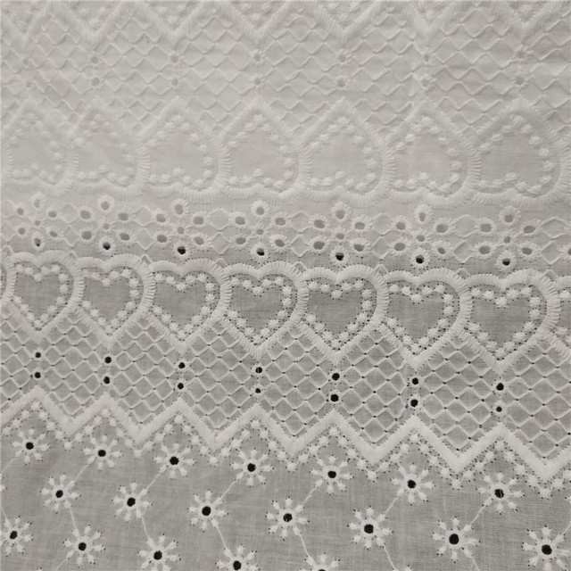 8ad212eb36fffc 10 yards White Cotton Voile Eyelet Embroidery Lace Fabric,Blouse Skirt  Table Cloth Skirts Patchwork Sewing Cloth Fabrics