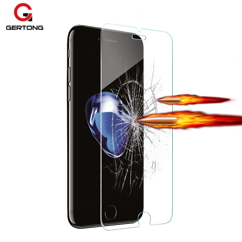 9H Protective Tempered Glass For Apple iPhone 7 6 6S Plus 5S 5 5C SE 4 4S 6 Toughened Anti Explosion Screen Protector Cover Film iPhone XR