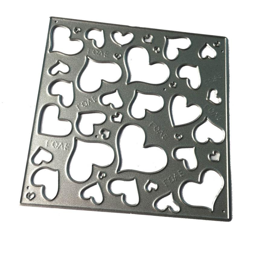 House LC New Metal Cutting Dies Stencils For DIY Scrapbooking Photo Album Paper Card Gift 17Nov29 Drop Ship