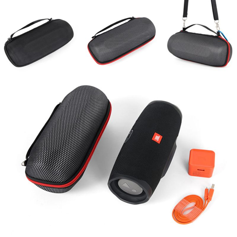 Storage Bag Protective Carrying Case Shockproof Cover Shell Portable Travel Accessories for <font><b>JBL</b></font> <font><b>Charge</b></font> <font><b>4</b></font> Wireless Bluetooth Spe image