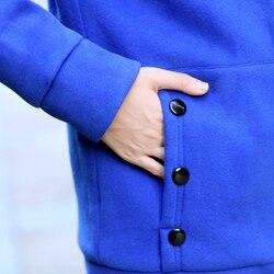 Kobiety moda jesień zima zagęścić sportowe bawełniane płaszcz panie stałe ciepła kurtka z kapturem odzieży wierzchniej kobiet wyściełane parka płaszcz 6