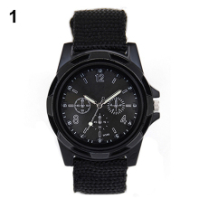 New Solider Military Army Men's Sport Style Belt Luminous Quartz Wrist Watch 4 Colors 1HGI 6T2R C2K5W